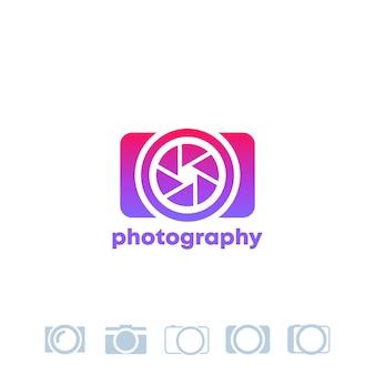 Plantilla de logotipo de fotografía