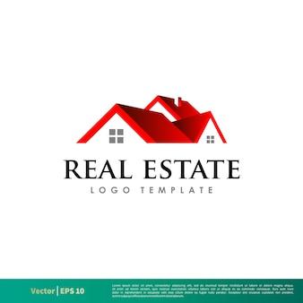 Plantilla de logotipo inmobiliario