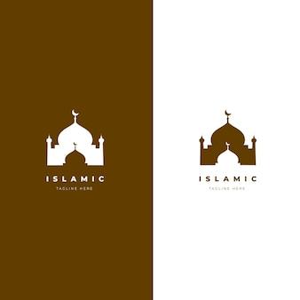 Plantilla de logotipo islámico