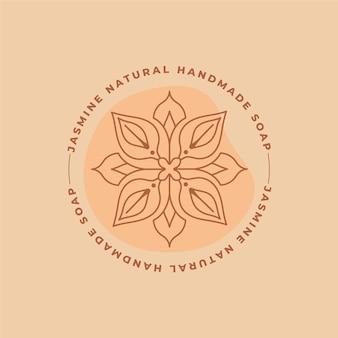 Plantilla de logotipo de jabón