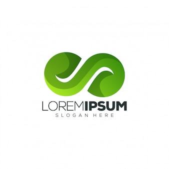 Plantilla de logotipo de letra s