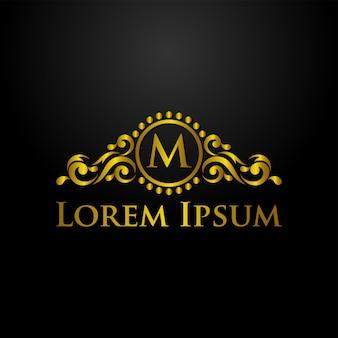 Plantilla de logotipo de lujo