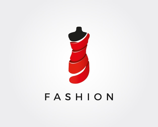 Plantilla de logotipo de moda mínima