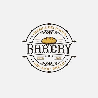 Plantilla de logotipo de panadería