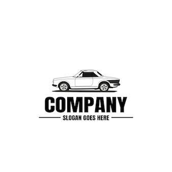 Plantilla de logotipo de vehículo. icono de coche para diseño de negocios.
