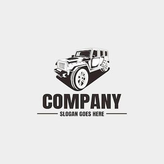 Plantilla de logotipo del vehículo