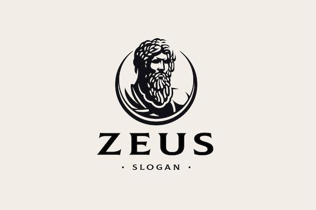 Plantilla de logotipo de zeus