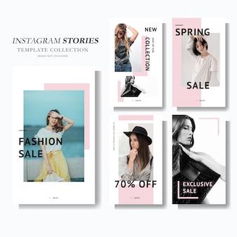 Plantilla de marketing de historia de instagram