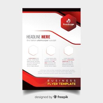 Plantilla moderna de folleto de negocios