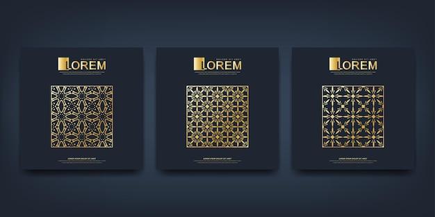 Plantilla moderna para folleto, prospecto, volante, anuncio, portada, revista o informe anual.