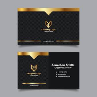 Plantilla de nombre de tarjeta de presentación premium