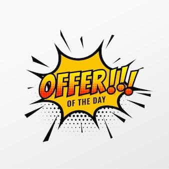 Plantilla de oferta y venta para promoción empresarial
