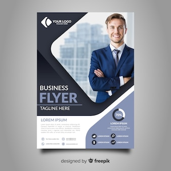 Plantilla de panfleto de negocios