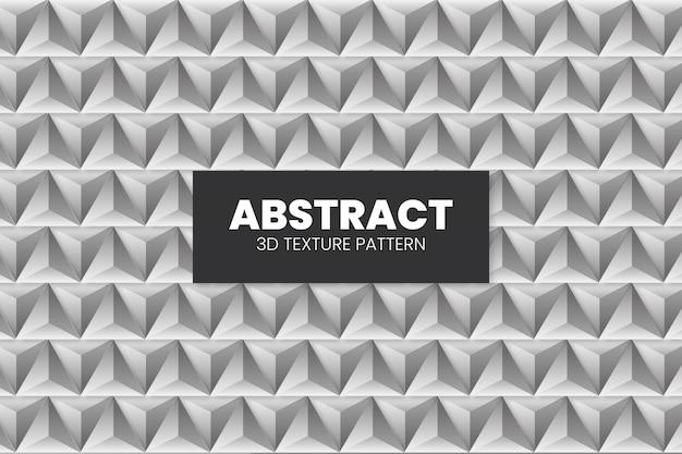 Plantilla de patrón de textura 3d abstracto