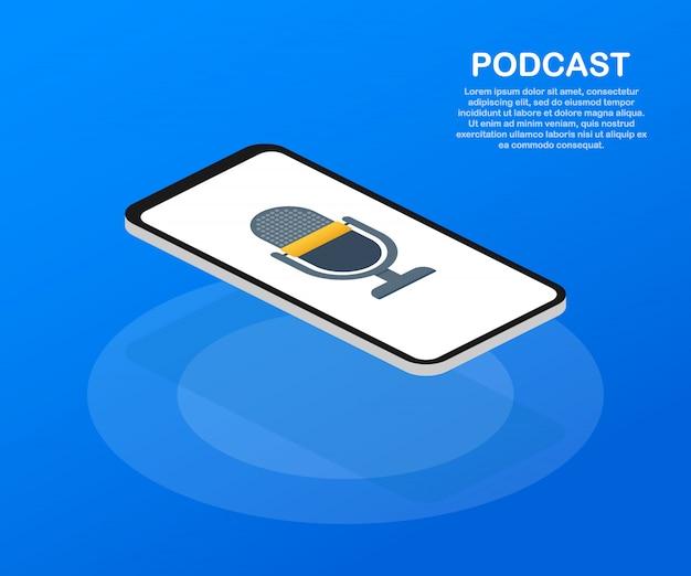 Plantilla de podcast