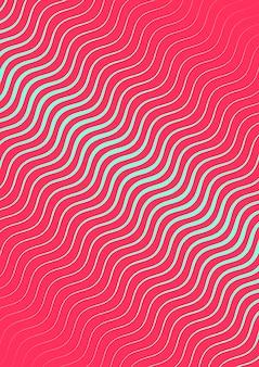 Plantilla de portada minimalista con gradientes