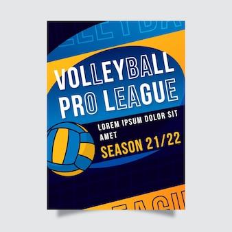 Plantilla de póster de evento deportivo