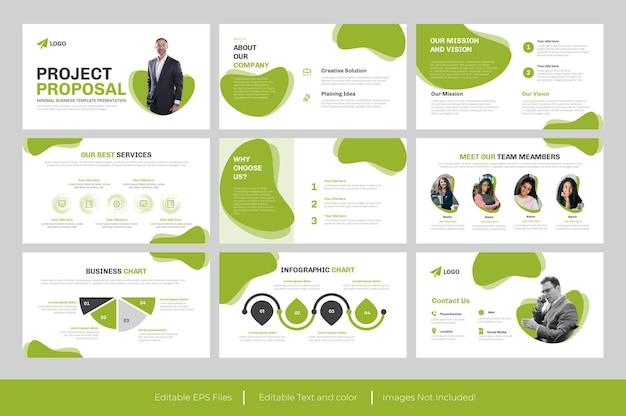Plantilla de powerpoint - propuesta de negocio