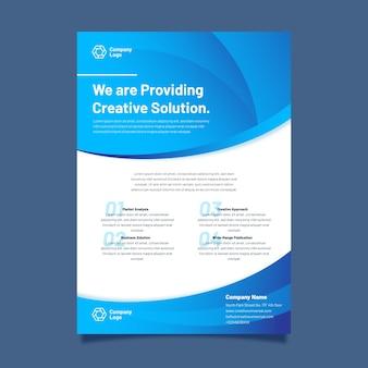 Plantilla de presentación del programa de la empresa
