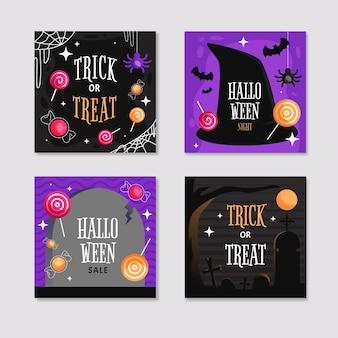 Plantilla de publicación de instagram de festival de halloween