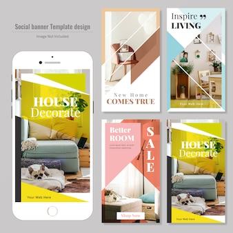 Plantilla de publicación de redes sociales de bienes raíces