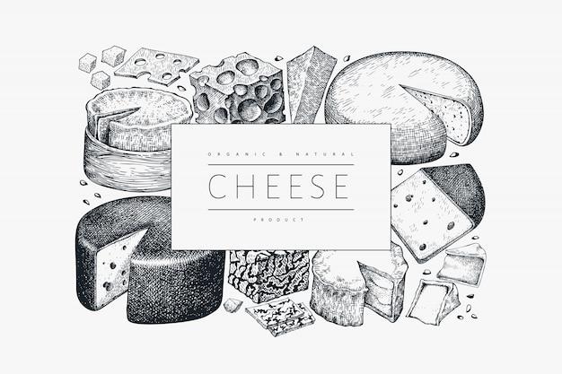 Plantilla de queso