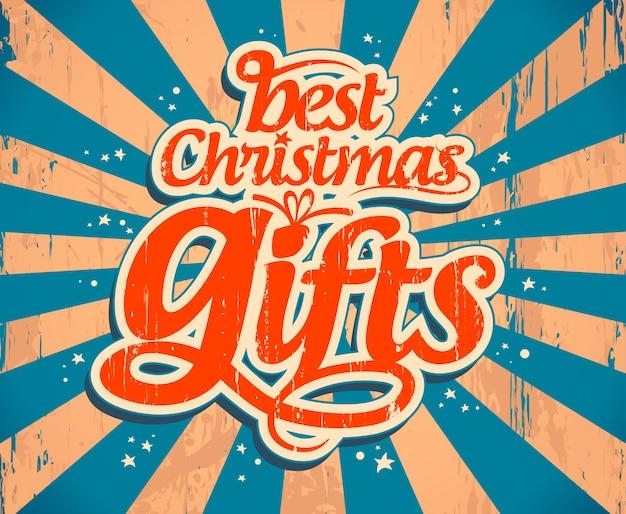 Plantilla de regalos de navidad.