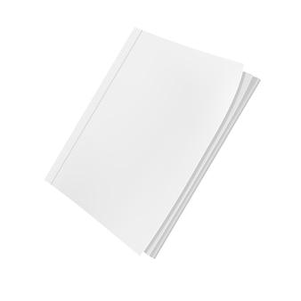Plantilla de revista en blanco