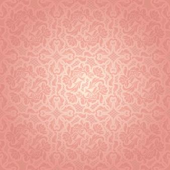 Plantilla rosa decorativa