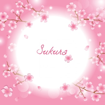 Plantilla de sakura