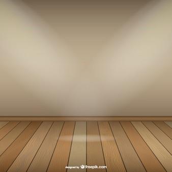 Plantilla de sala vacía