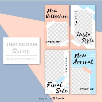 Plantilla de stories de instagram