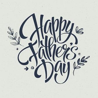 Plantilla de tarjeta de felicitación para el día del padre.