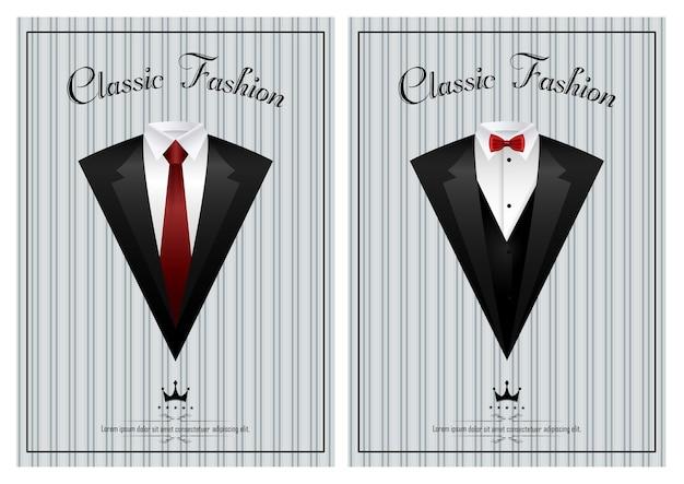 Plantilla de tarjeta de invitación elegante de negocios