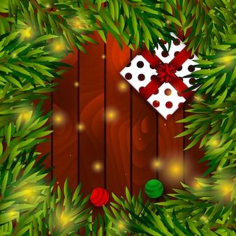 Plantilla de tarjeta de navidad