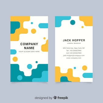Plantilla de tarjeta de negocio creativa