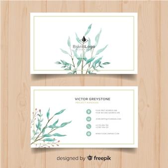 Plantilla de tarjeta de negocio elegante