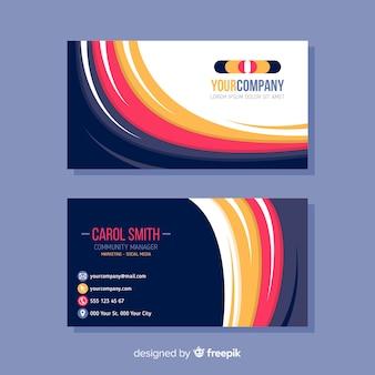 Plantilla de tarjeta de negocio