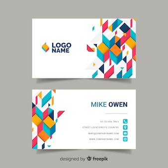 Plantilla de tarjeta de negocios