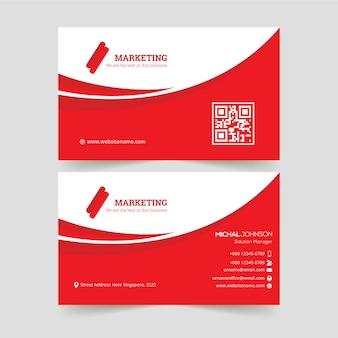 Plantilla de tarjeta de presentación creativa