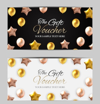 Plantilla de tarjeta de regalo