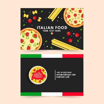 Plantilla de tarjeta de visita creativa