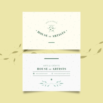 Plantilla de tarjeta de visita mínima
