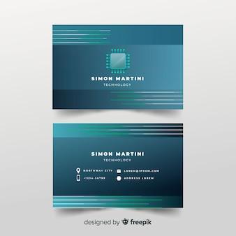 Plantilla de tarjeta de visita