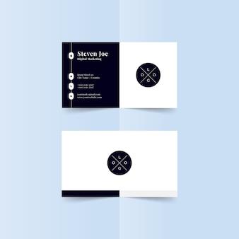 Plantilla de tarjetas de visita modernas