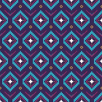Plantilla tradicional de patrón de songket