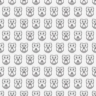 Plantilla de vector de diseño de ppattern