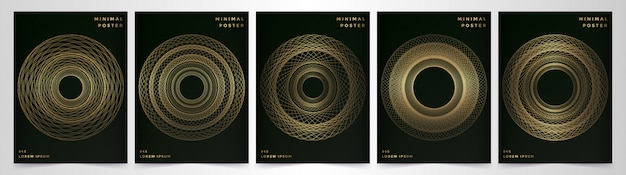 Plantilla de vector moderno para folleto folleto volante anuncio portada catálogo revista o informe anual.