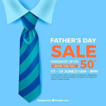 Plantilla de venta del día del padre