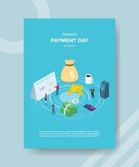 Plantilla de volante de día de pago de finanzas